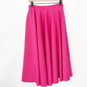 ASOS bright  pink midi skirt